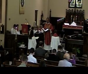 Hope Laskaris and MacKenzie Jasinkas as they Affirm their Baptism this Pentecost Sunday