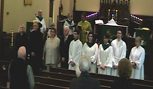 The Installation of St. Matthew's 2015 Church Council