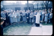 Addition Ground Breaking 1957