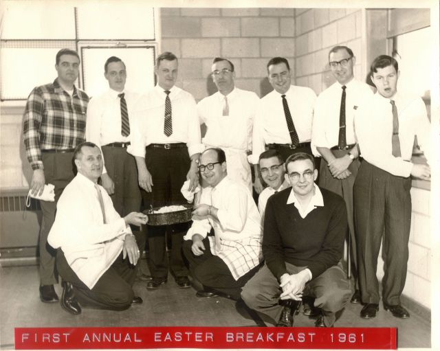 1st Annual Easter Breakfast 1961