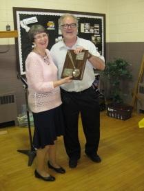 Bill gets the Award