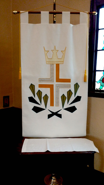 Click on the above photo (Christ The King Banner) to listen to this week's sermon