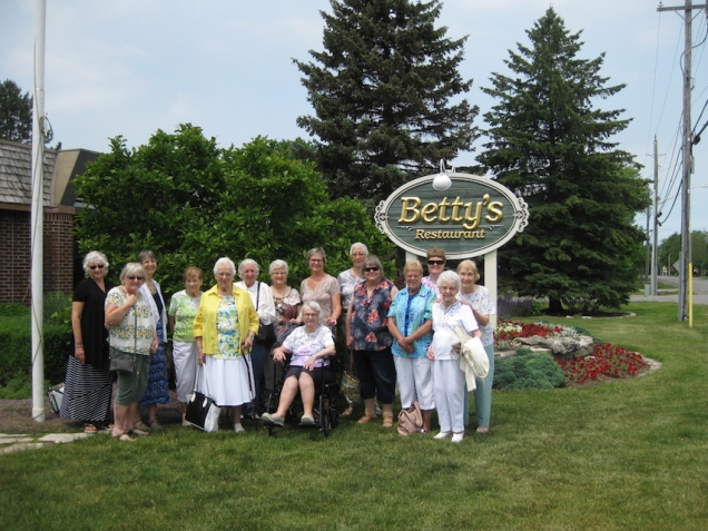 2017 Ladies Luncheon at Betty's