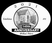 145th Anniversary - February 24, 2021